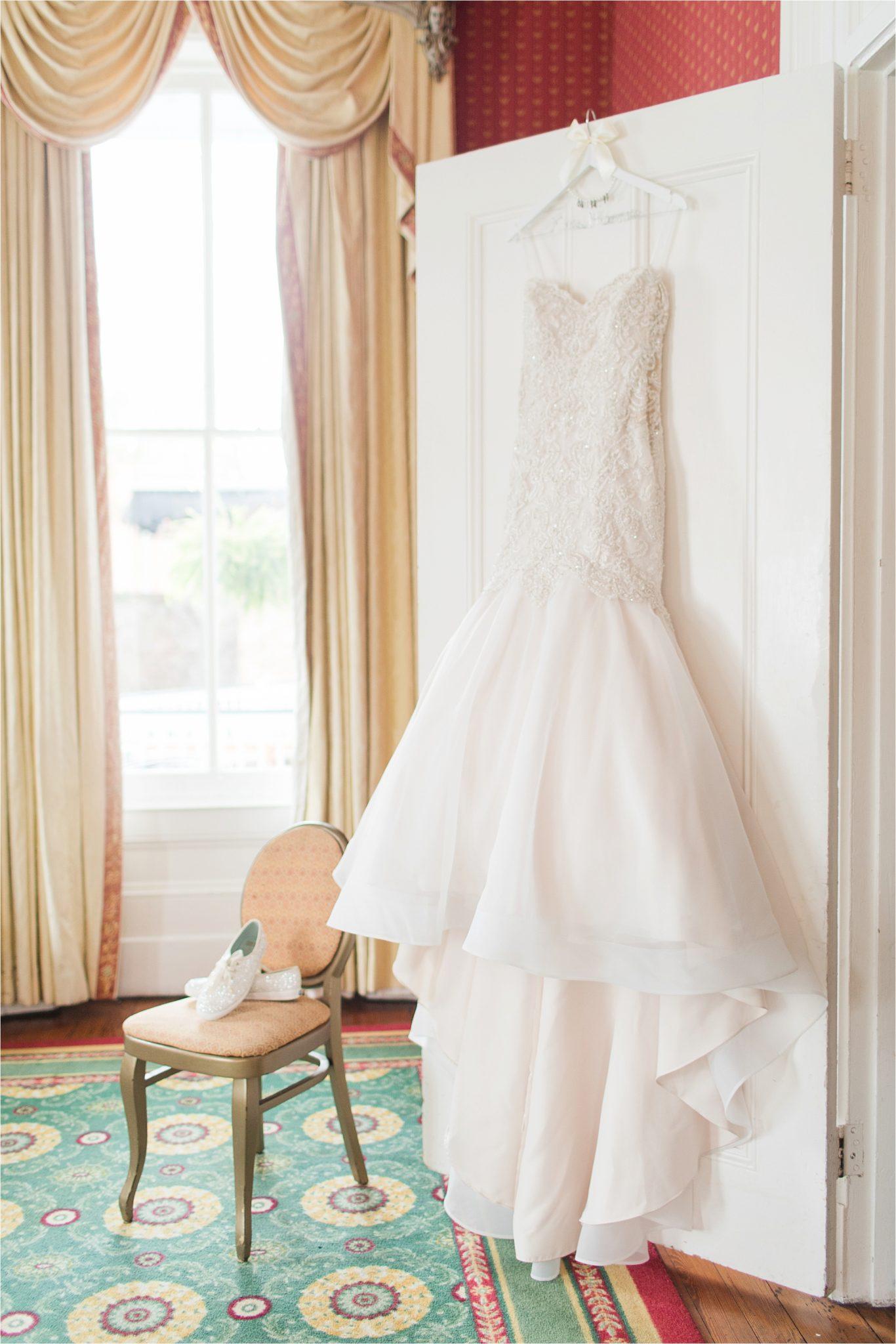mermaid wedding dress-strapless-diamond studded-jeweled-layered wedding skirt