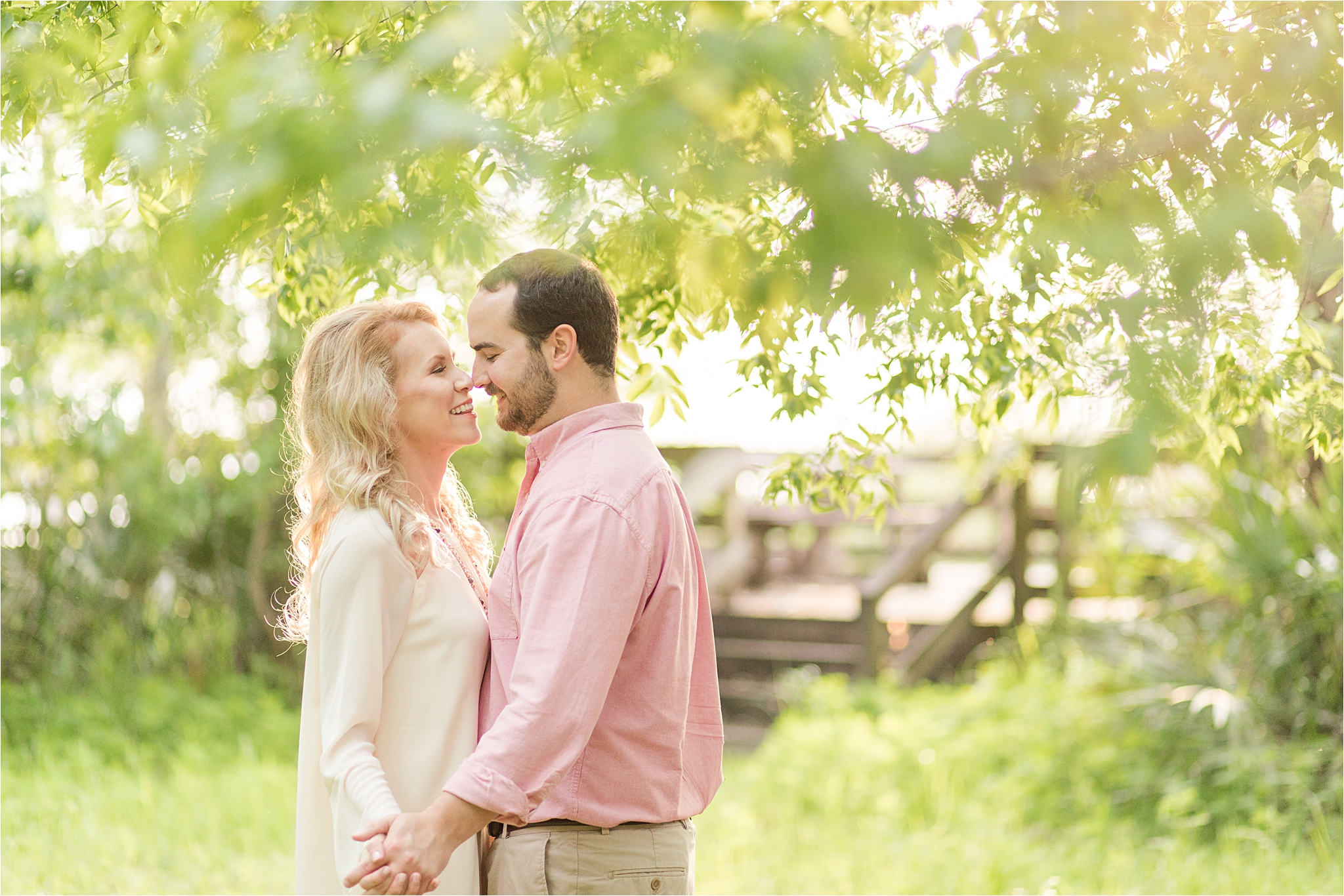 Blakeley State Park Engagement Photos | Clay + Lauren