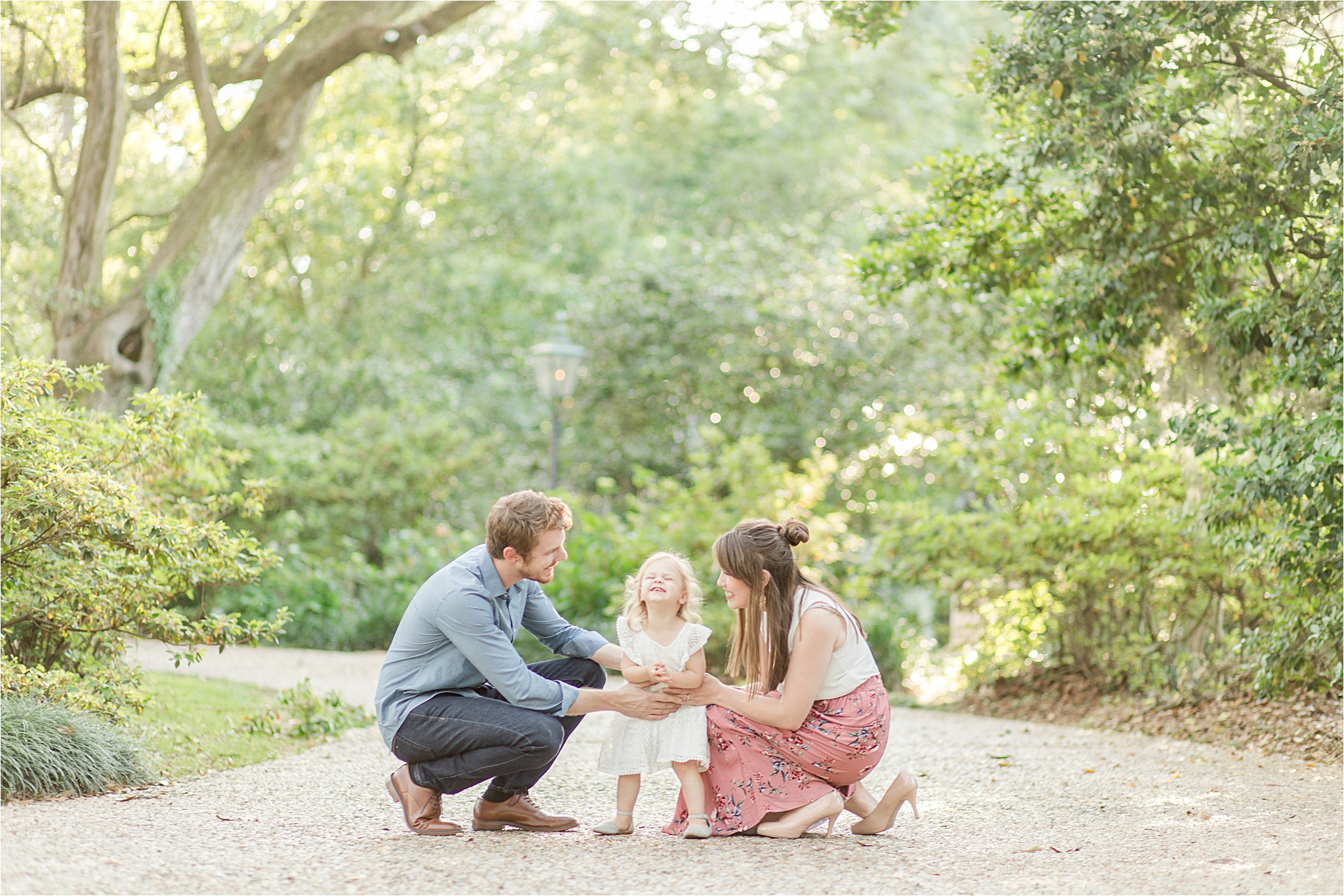 Bragg Mitchell Mansion Family Photography - The Ray Family