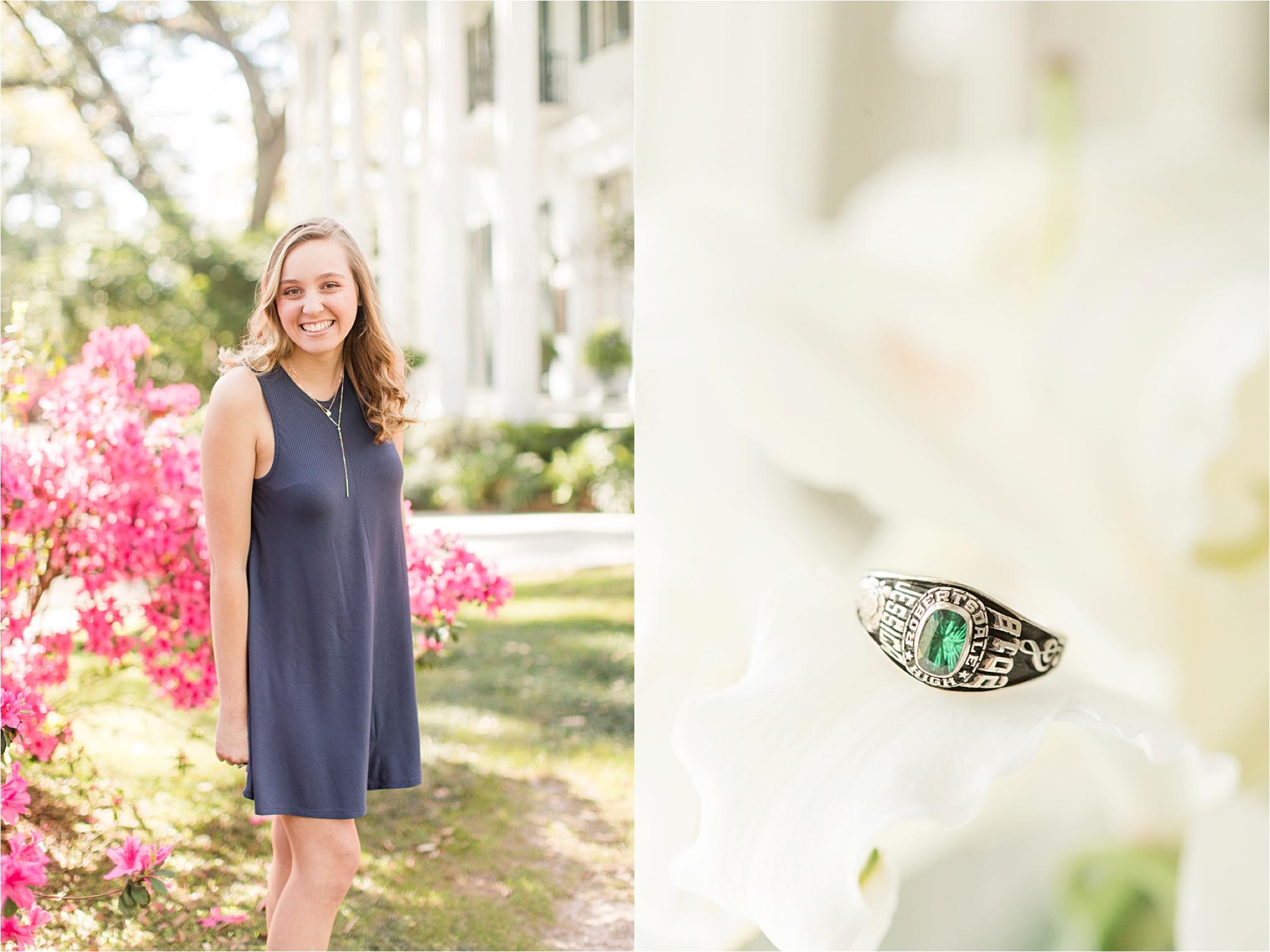 Bragg Mitchell Mansion Senior Photo Session | Jessica