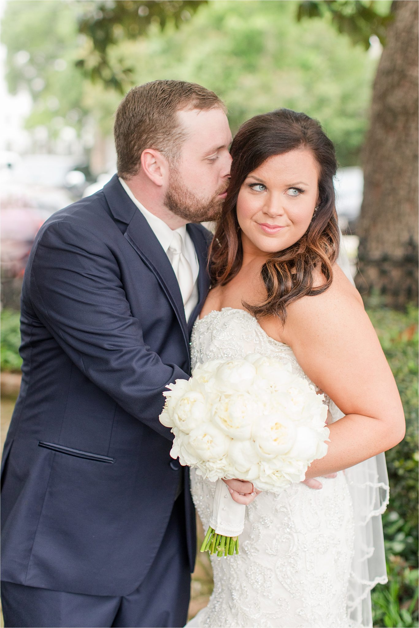 Ezell House Historic Downtown Mobile-Alabama Wedding-bride and groom-wedding couple portraits