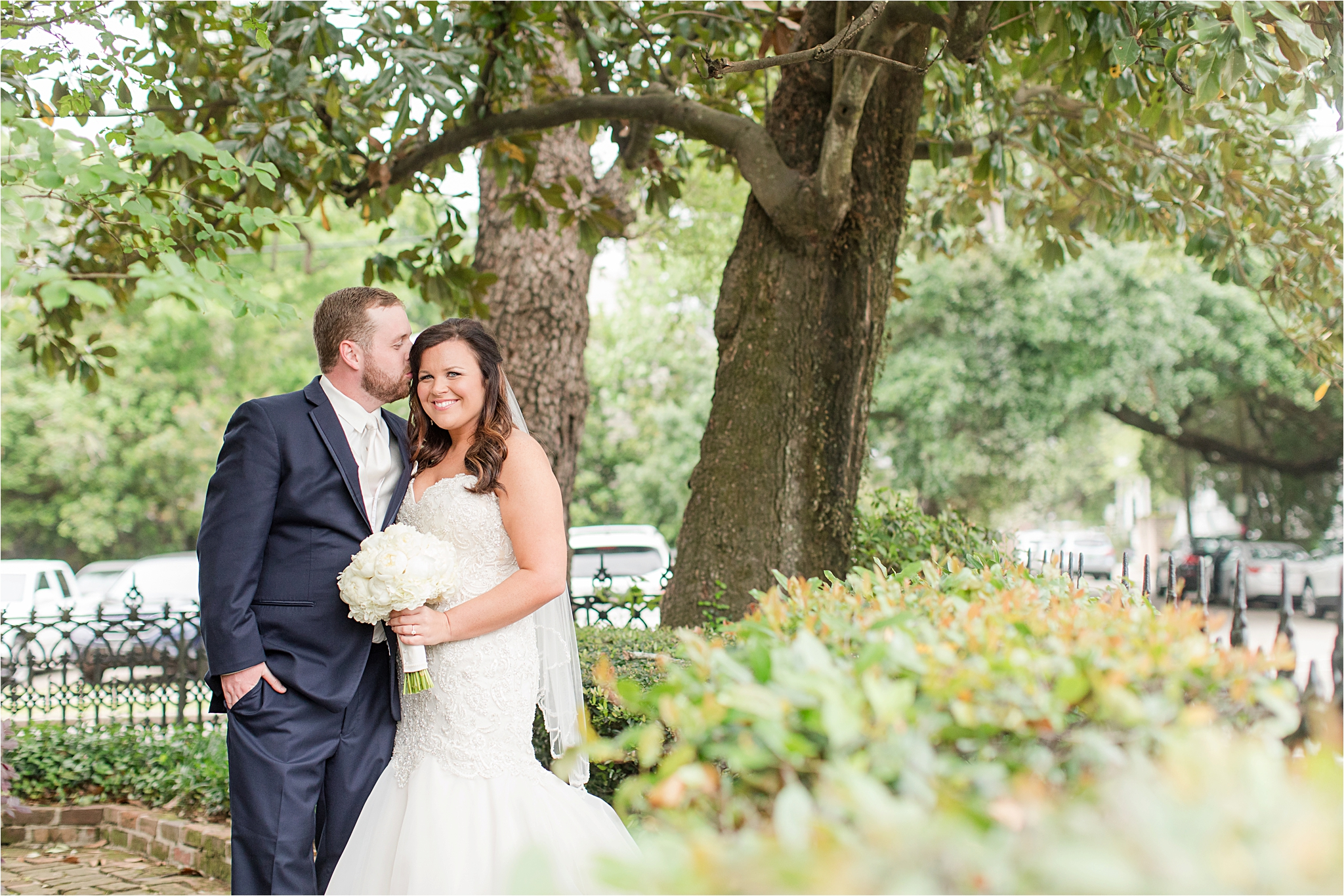 Ezell House Historic Downtown Mobile, Alabama Wedding