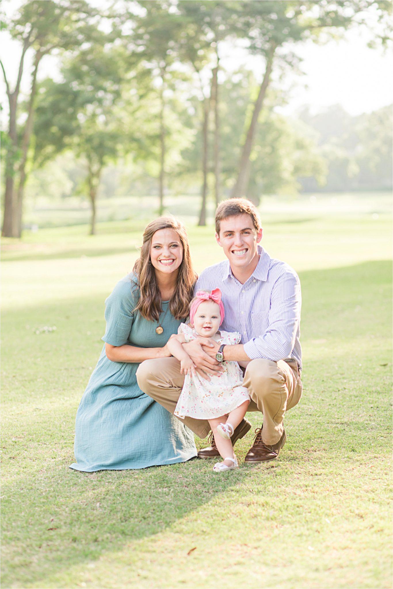 Mobile Alabama Family Photographer-family of three-family portraits-cute family portrait ideas