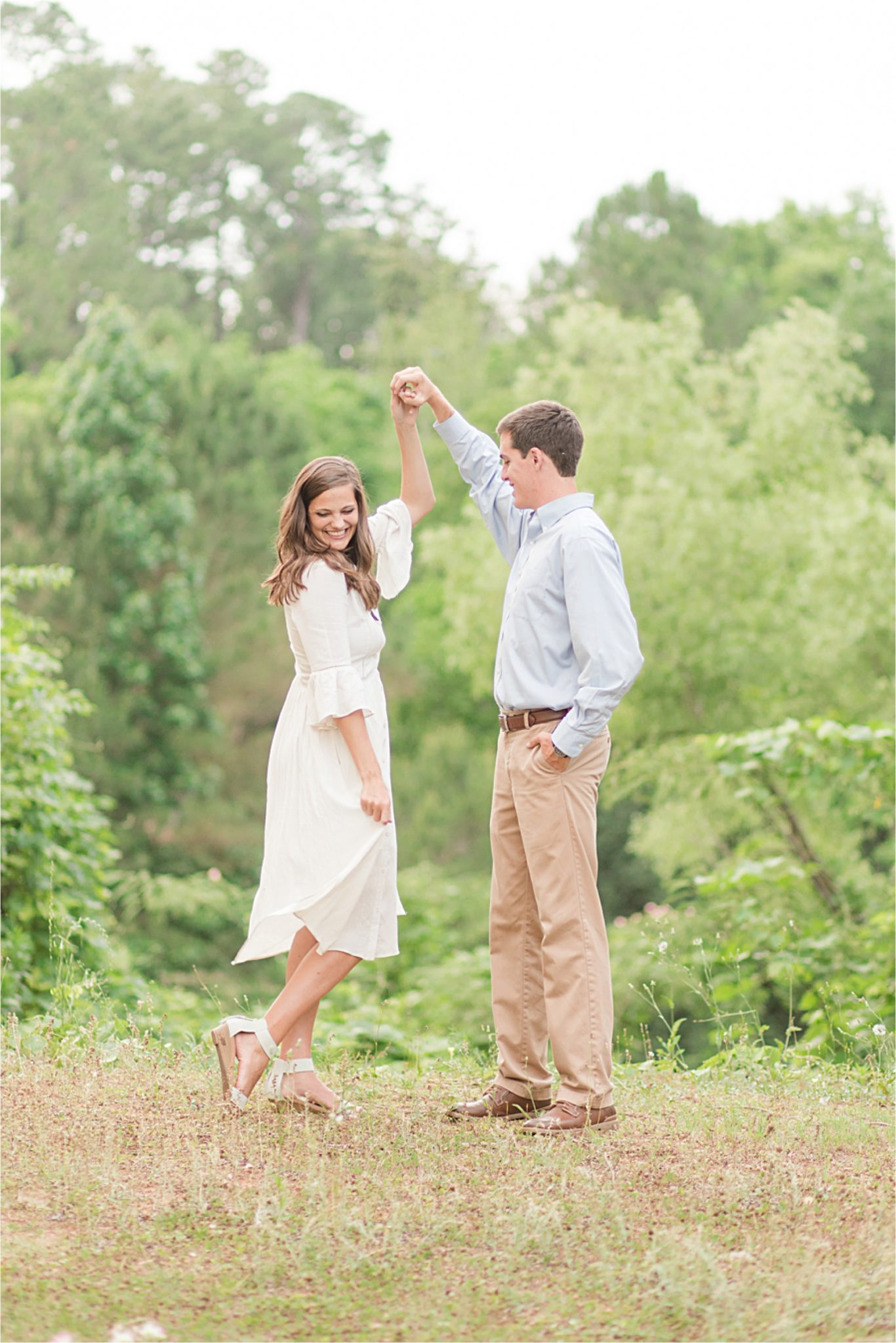 Mobile Alabama Family Photographer-couple photos-dancing-family photography