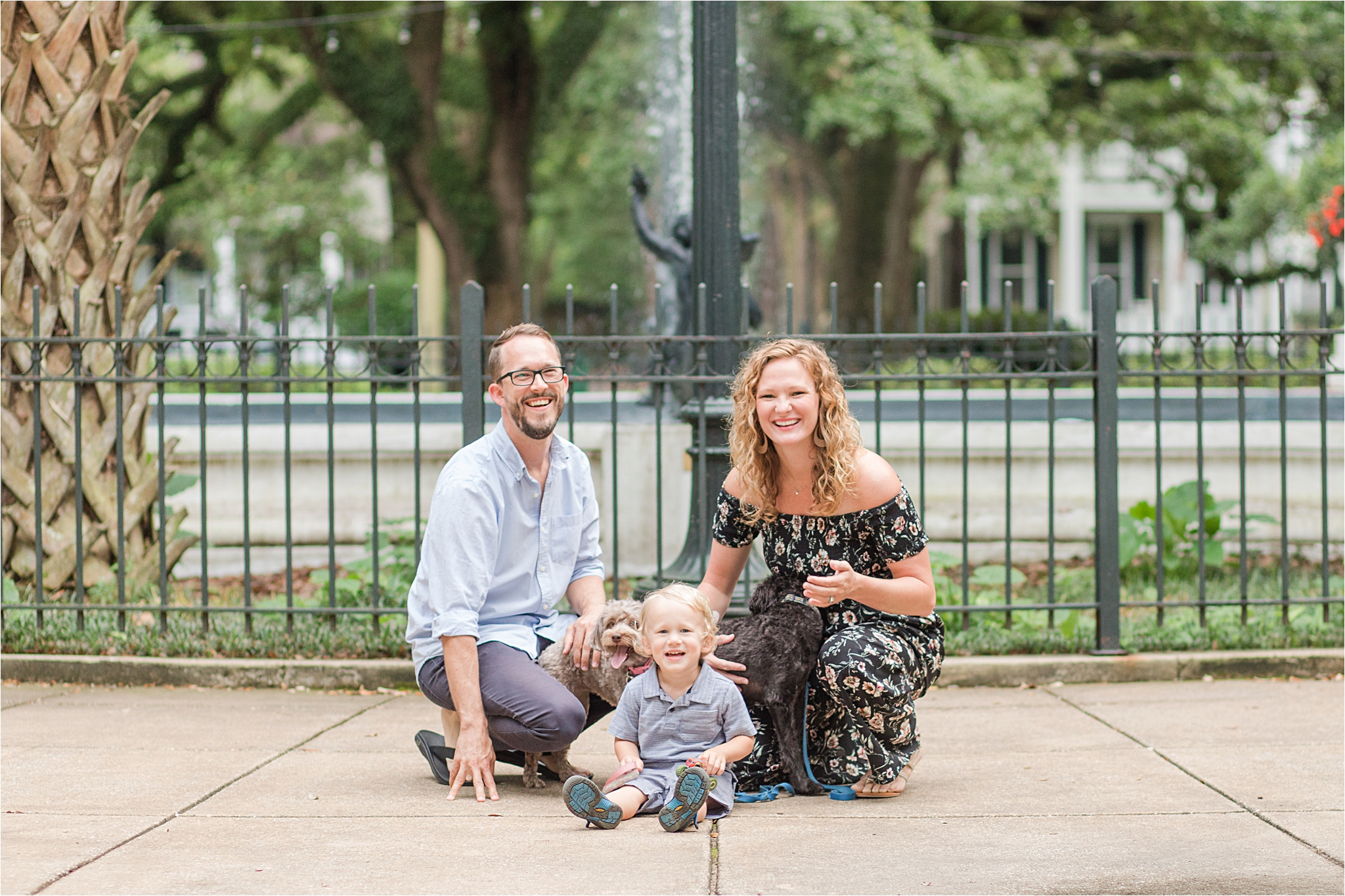 Washington Square Park Family Photography   The Taulbee Family