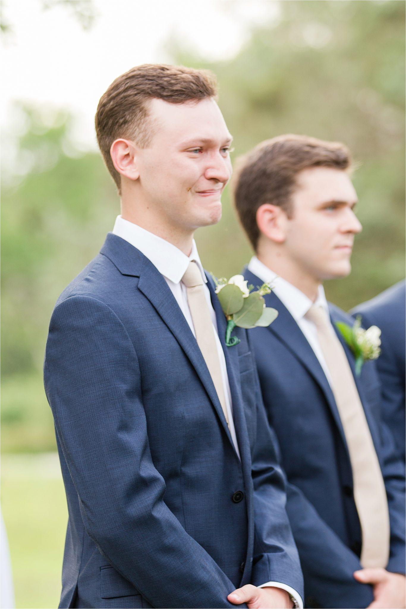 Hedge Farm Wedding, Alabama Wedding Photographer, Barn Wedding, Navy themed wedding