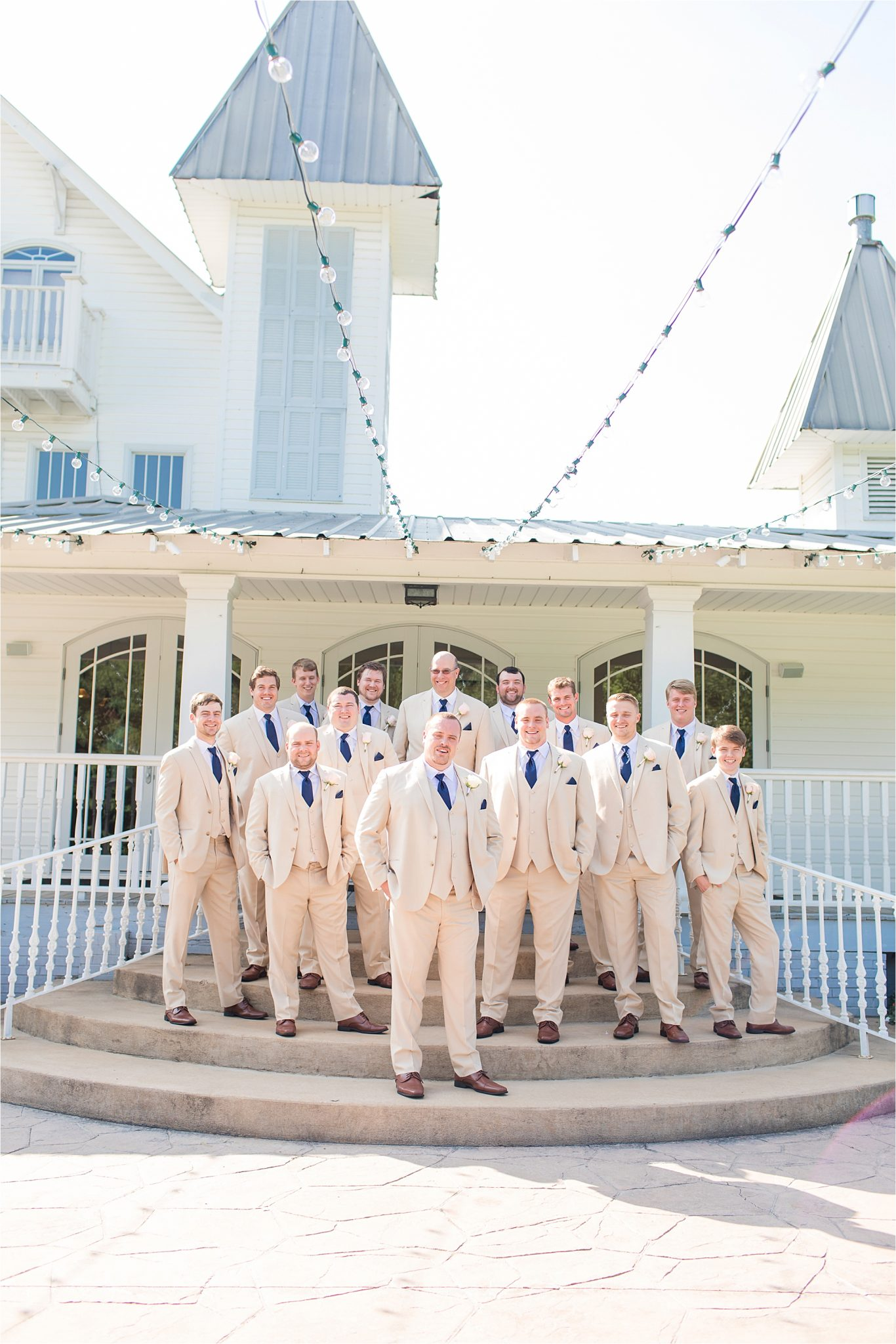 Sonnet House, Birmingham Alabama Wedding Photographer, Grooms and groomsmen