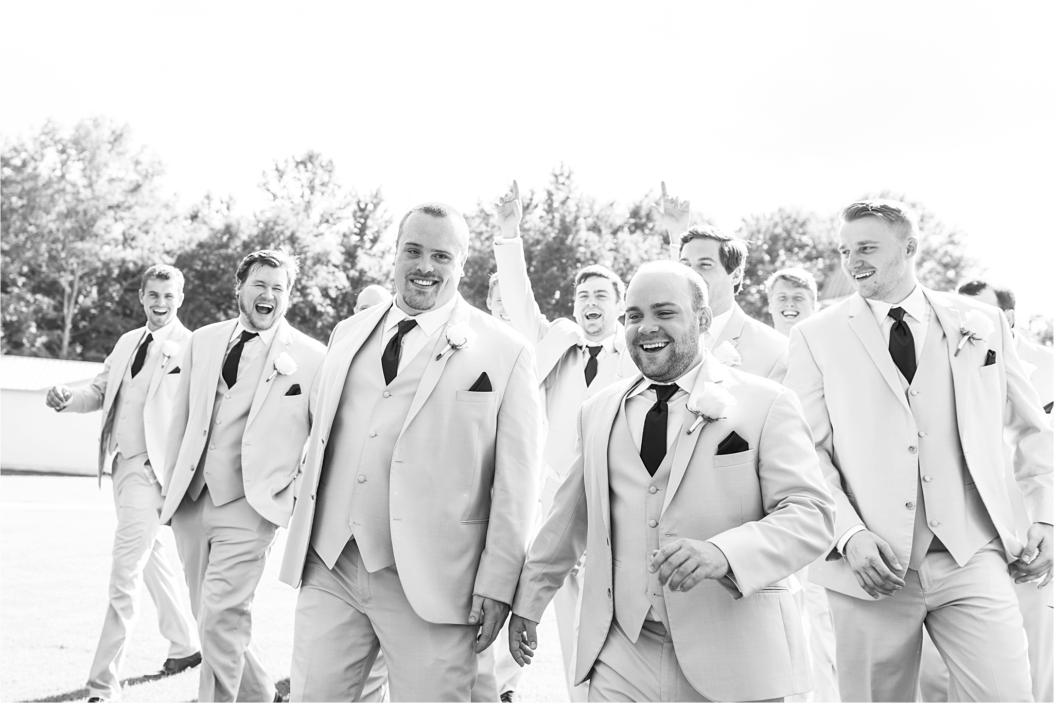 Birmingham Alabama Wedding Photographer | Mobile Alabama | Grooms and Groomsmen