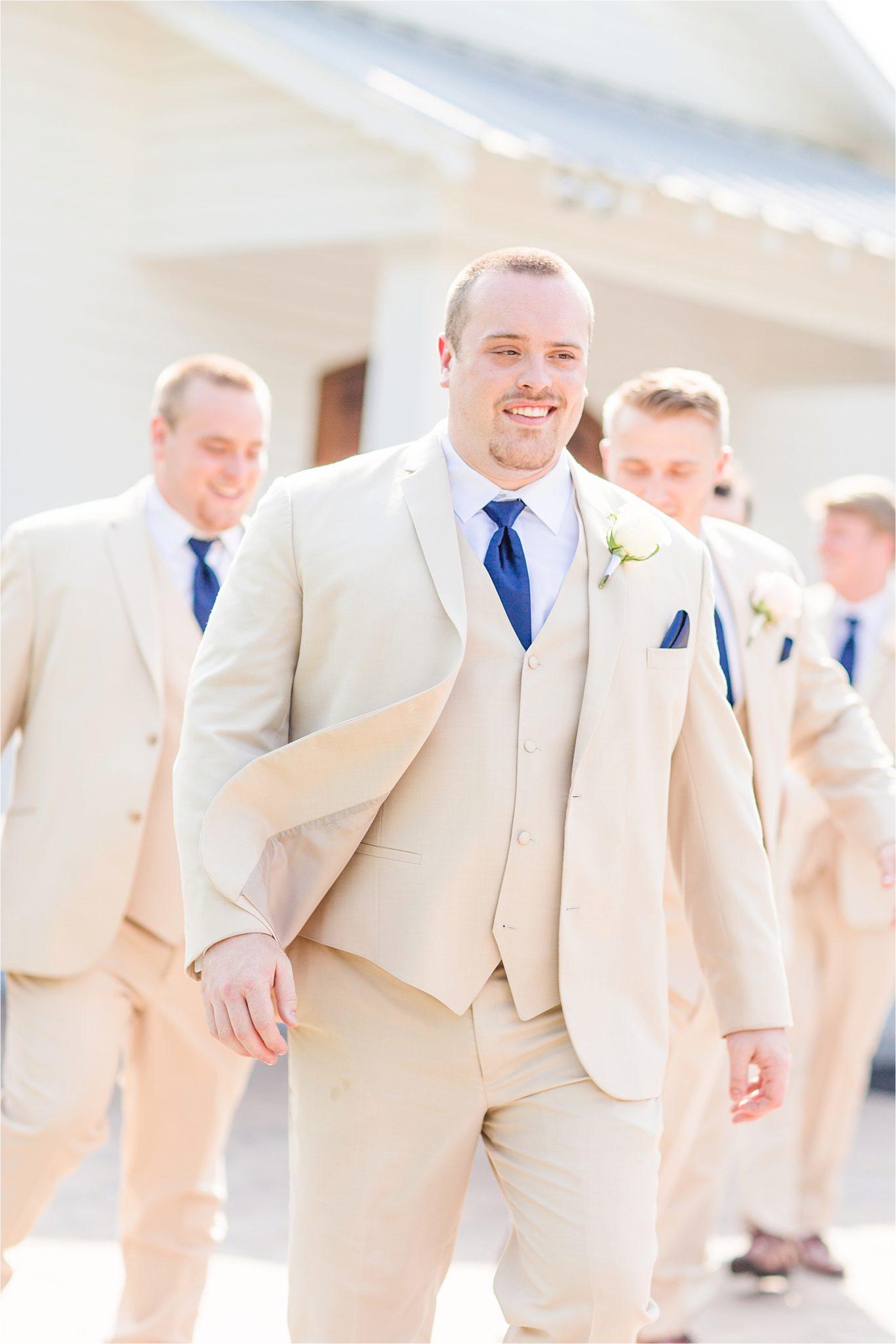Sonnet House, Birmingham Alabama Wedding Photographer, Grooms and groomsmen