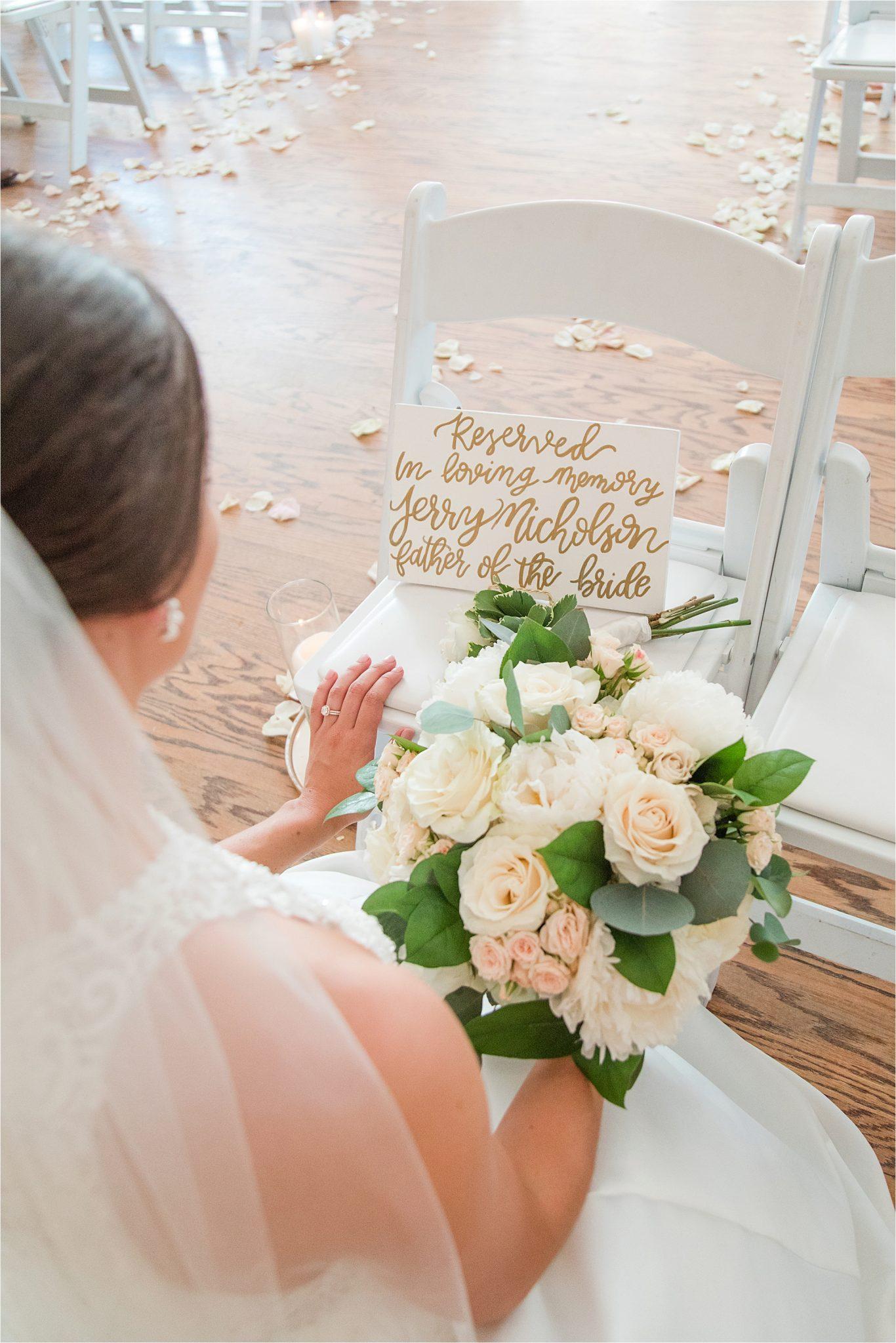 Birmingham Alabama Wedding Photographer, Deceased loved one, Mobile Alabama, Wedding florals