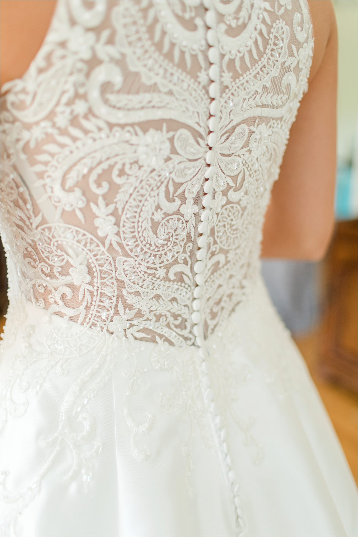 Sonnet House, Birmingham Alabama Wedding Photographer, Wedding dress details