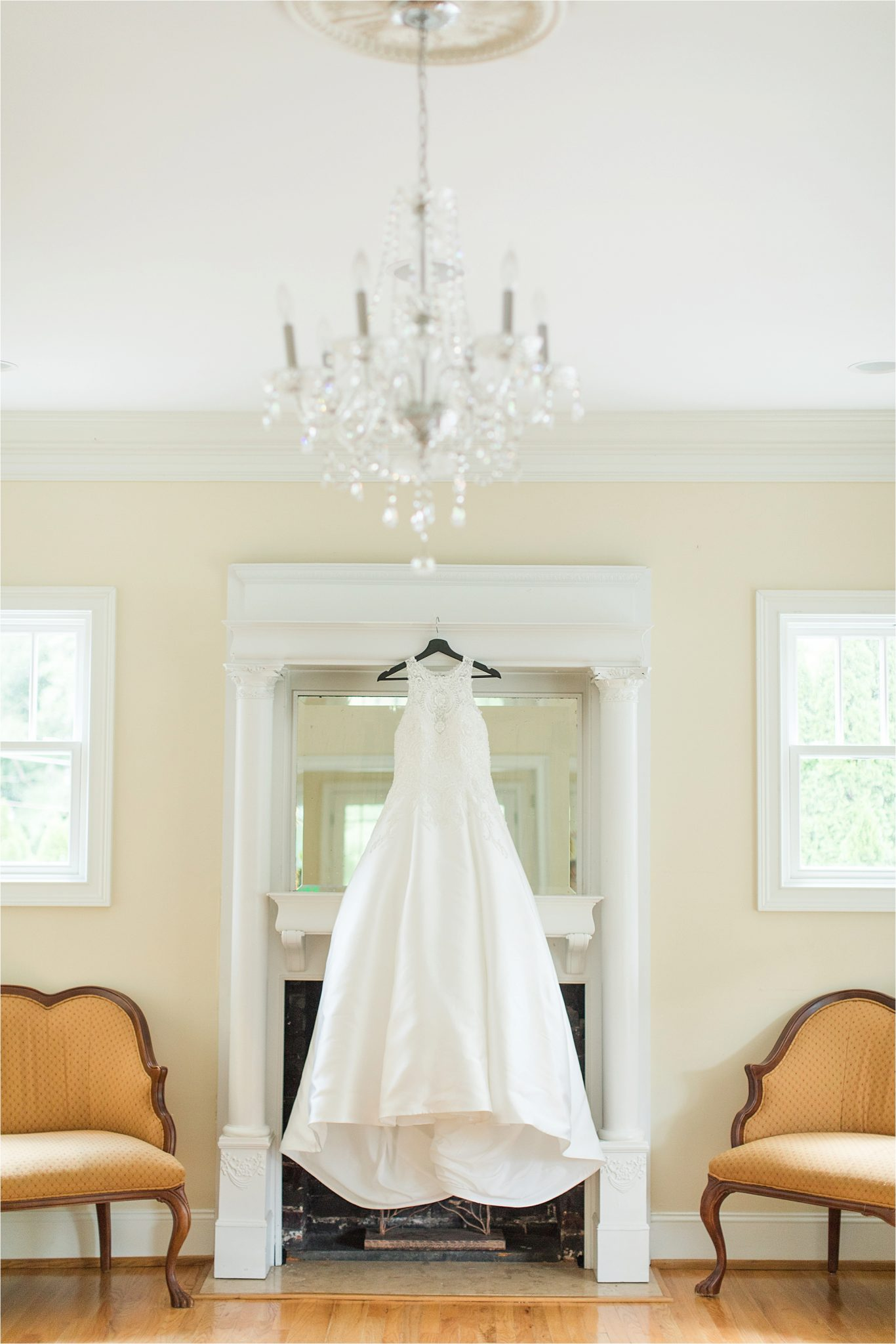 Sonnet House, Birmingham Alabama Wedding Photographer, Courtney + Ben, Wedding Dress