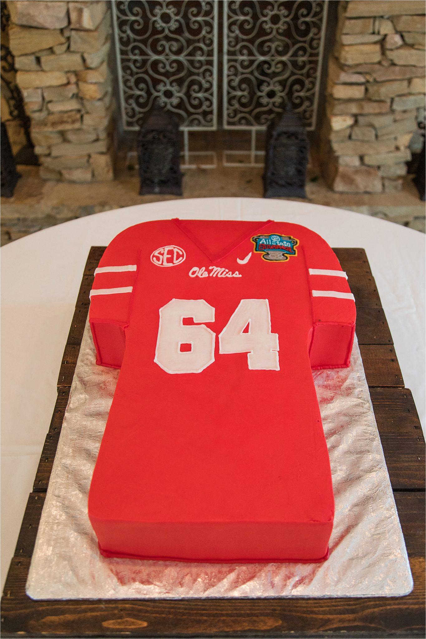 Ole Miss Grooms Cake ideas | Alabama Wedding Photographer | Sonnet House Venue