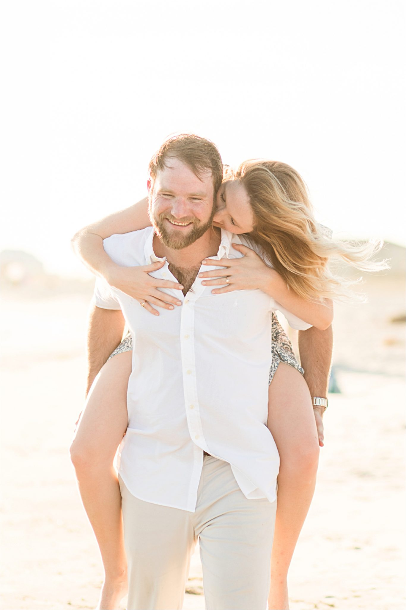 Beach engagement photos, Daulphin Island, Mobile wedding photographer, Candid couples, Romantic engagement shoot inspiration