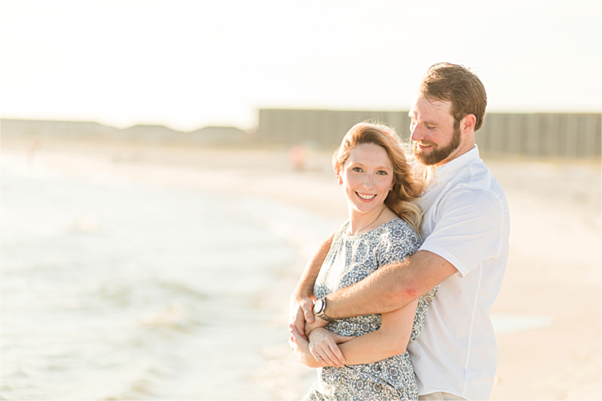 Romantic Dauphin Island Engagement Photos | Chase & Lorin