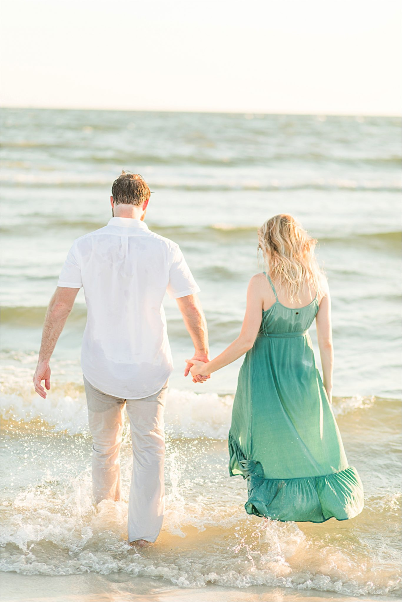 Beach engagement photos, Daulphin Island, Mobile wedding photographer, Candid couples, Romantic engagement shoot inspiration, whimsical, sunset engagement shoot