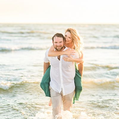 Romantic Dauphin Island Engagement Photos | Chase & Lorin