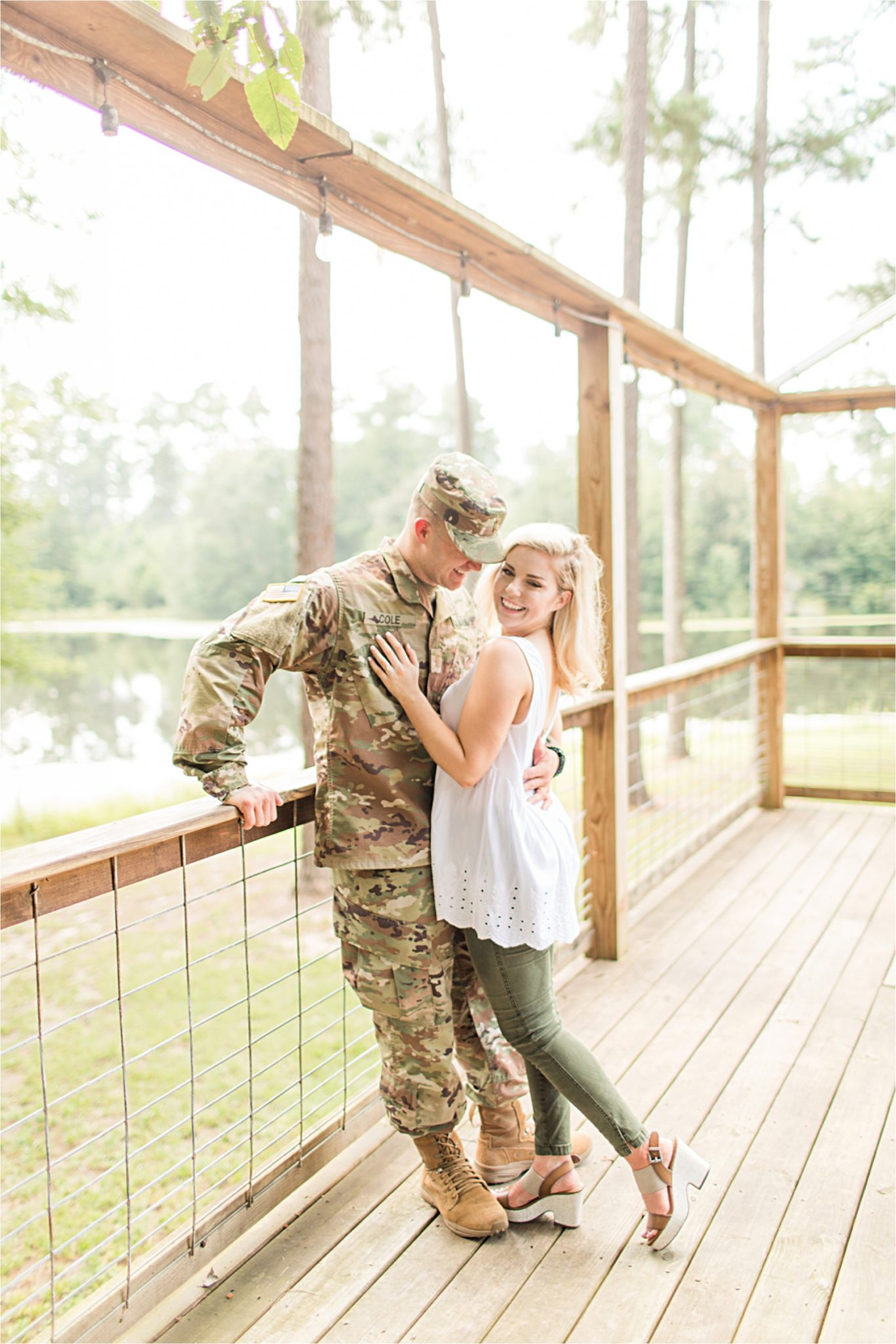 Laurel Mississippi, Brett & Sarah, Romantic Military Engagement, Mobile Alabama Photographer, Engagement Shoot Inspiration