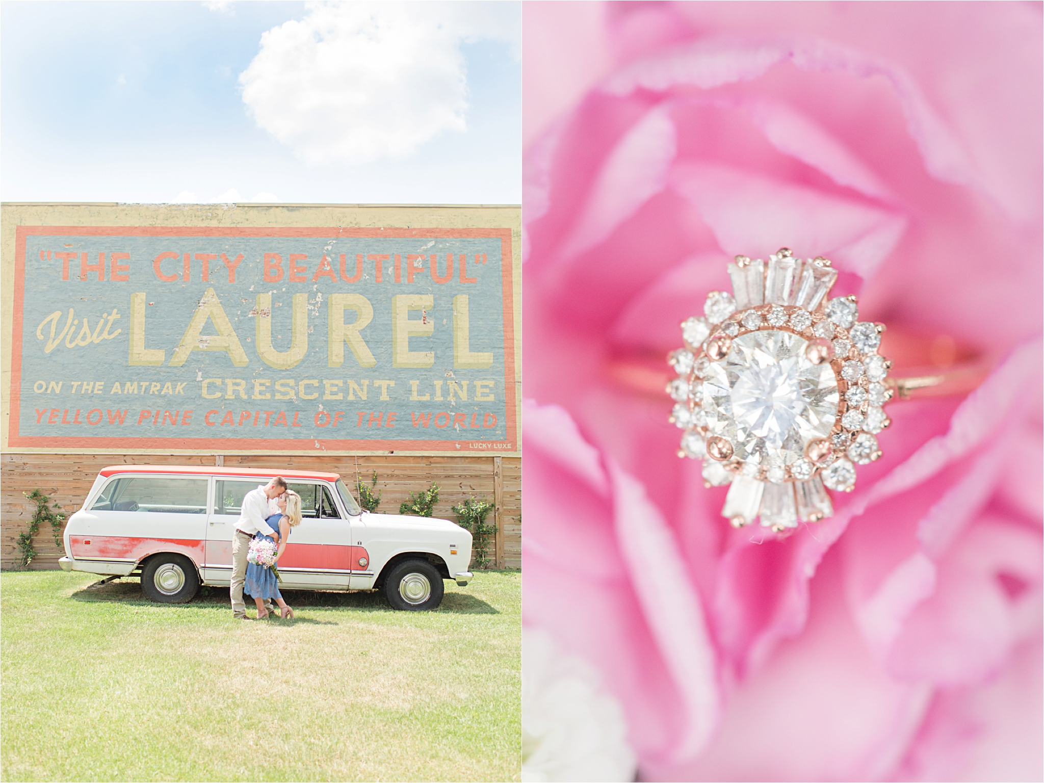 Laurel Mississippi Engagement Photographer,