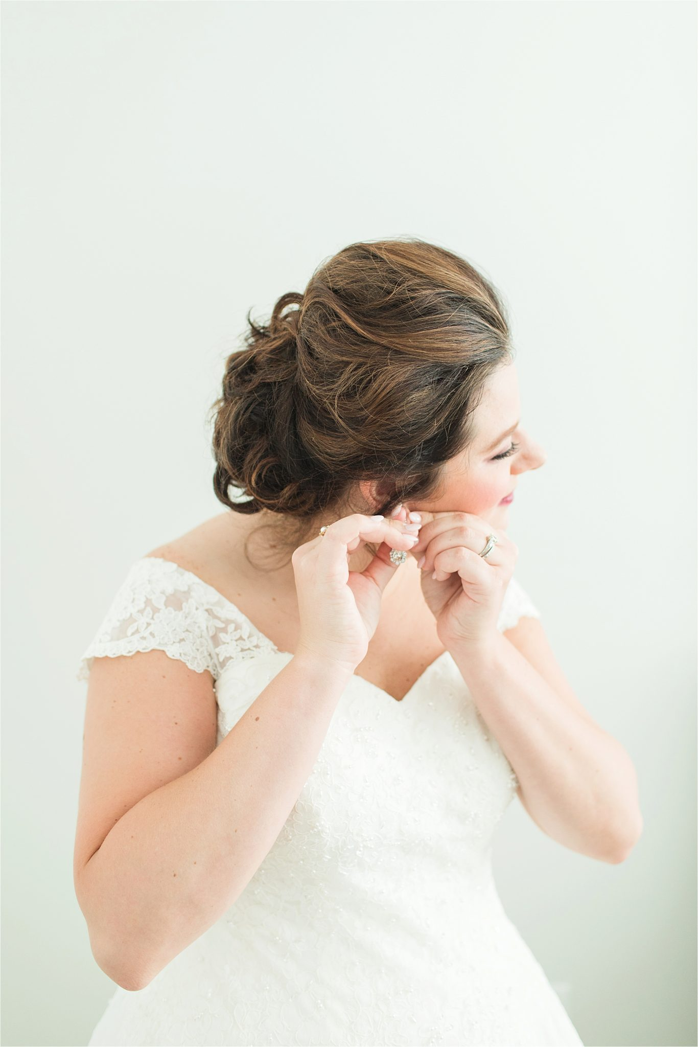 Pastel Themed Wedding-The Chapel at the Waters-Montgomery Alabama Photographer-Miles & Meredyth-Blue Themed Wedding-Wedding Hair-Bride Up-do