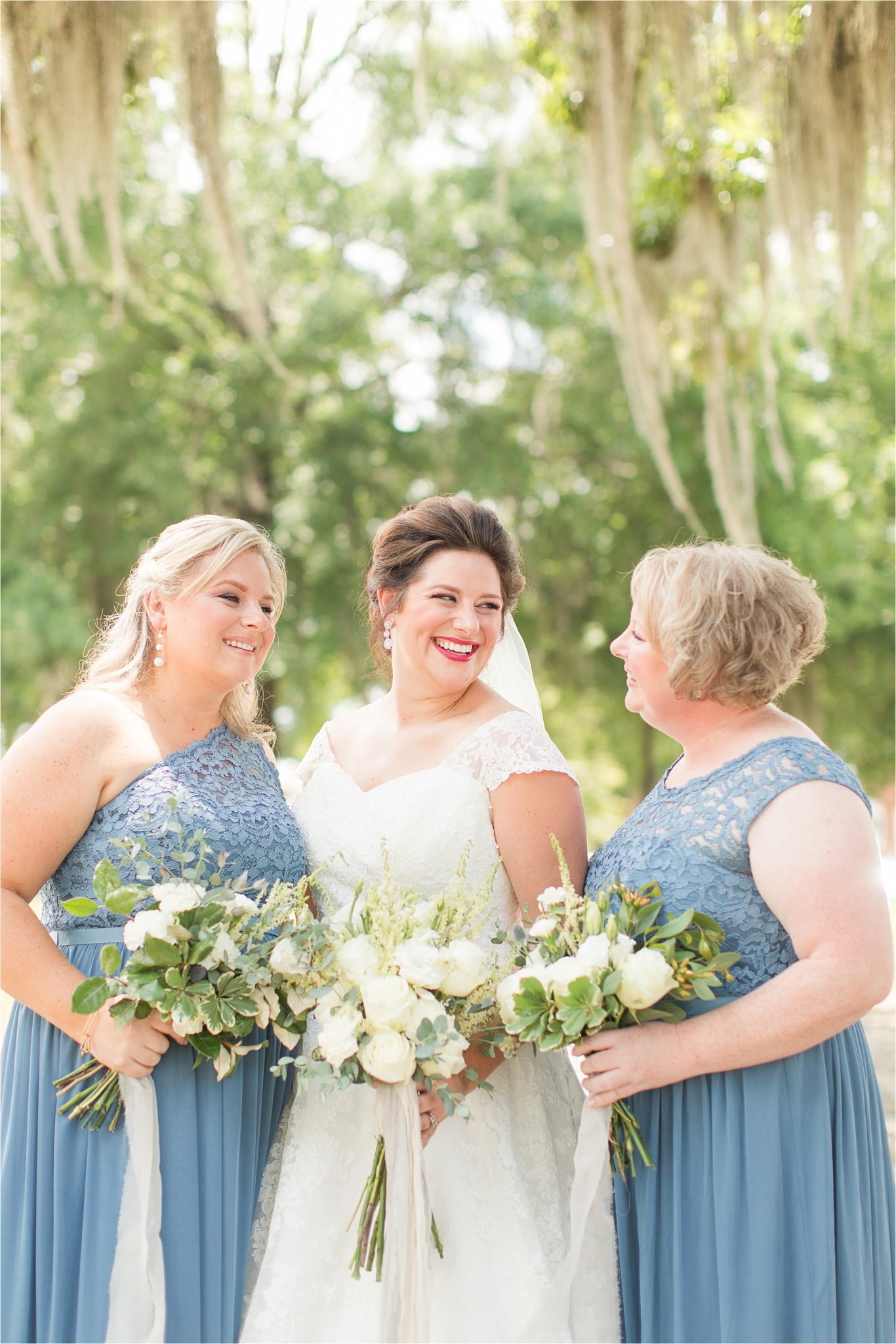 Pastel Themed Wedding-The Chapel at the Waters-Montgomery Alabama Photographer-Miles & Meredyth-Blue Themed Wedding-Alabama Wedding Venue-Wedding Details-Blue Bridesmaids Dresses-Wedding Day Makeup