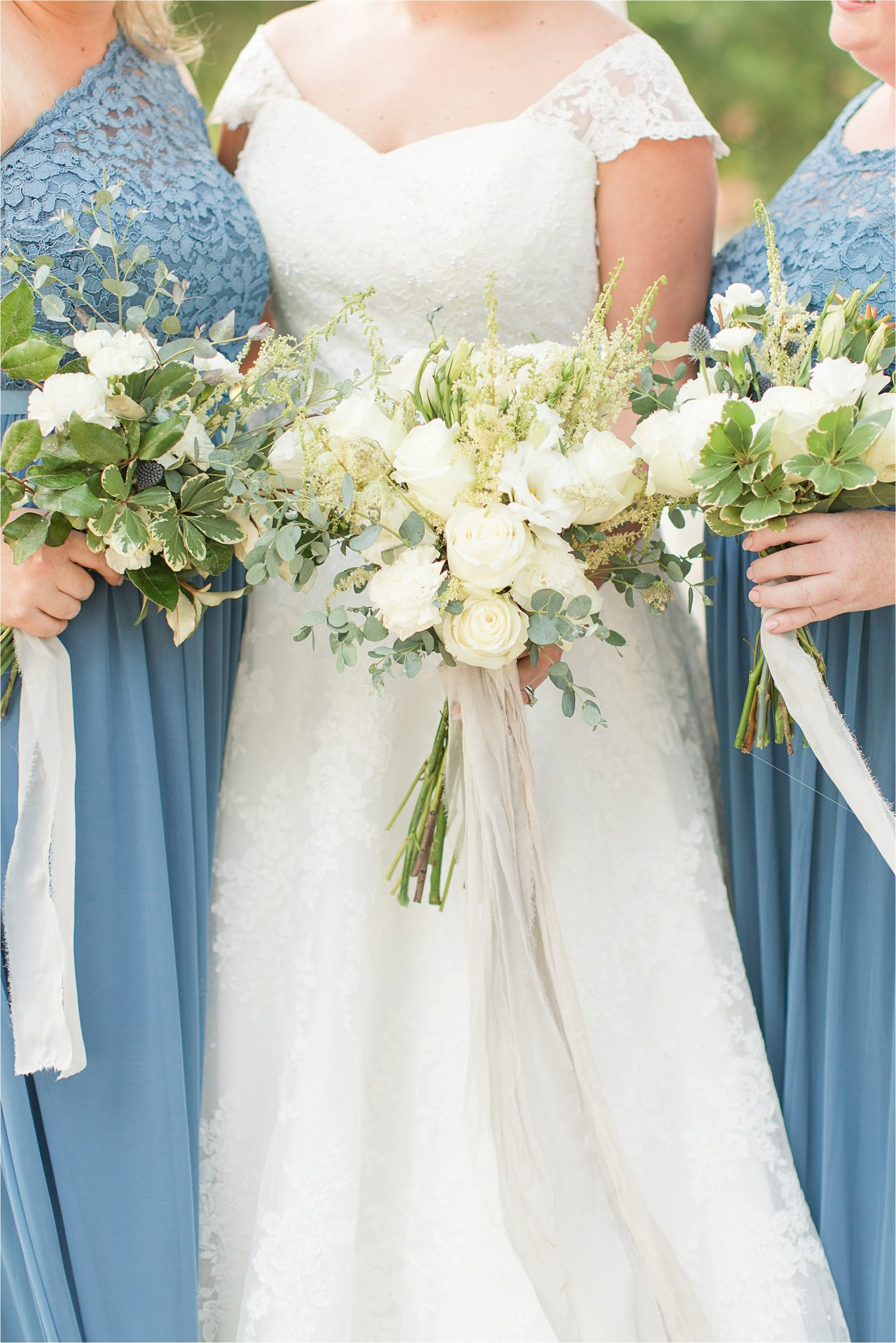 Pastel Themed Wedding-The Chapel at the Waters-Montgomery Alabama Photographer-Miles & Meredyth-Blue Themed Wedding-Blue Bridesmaids Dresses-Wedding Dress