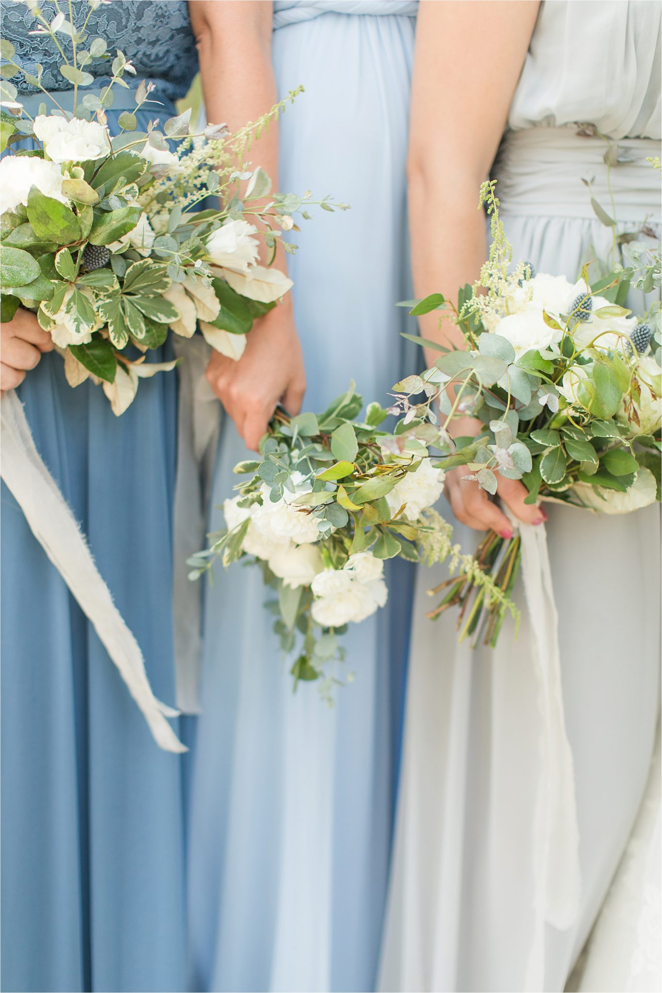 Pastel Themed Wedding-The Chapel at the Waters-Montgomery Alabama Photographer-Miles & Meredyth-Blue Themed Wedding-Blue Bridesmaids Dresses