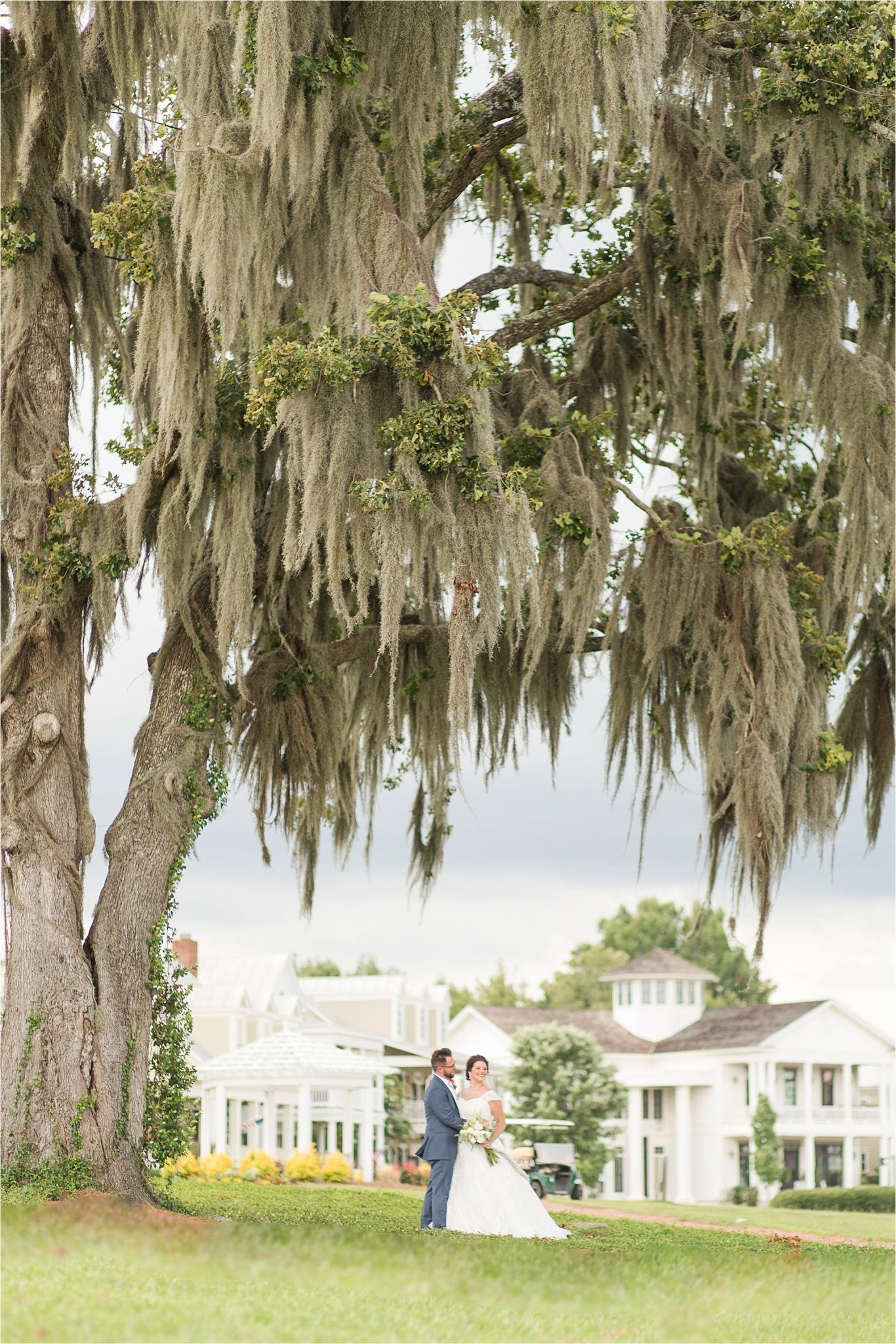 Pastel Themed Wedding-The Chapel at the Waters-Montgomery Alabama Photographer-Miles & Meredyth-Blue Themed Wedding-Navy Blue Groom Attire-Wedding Dress