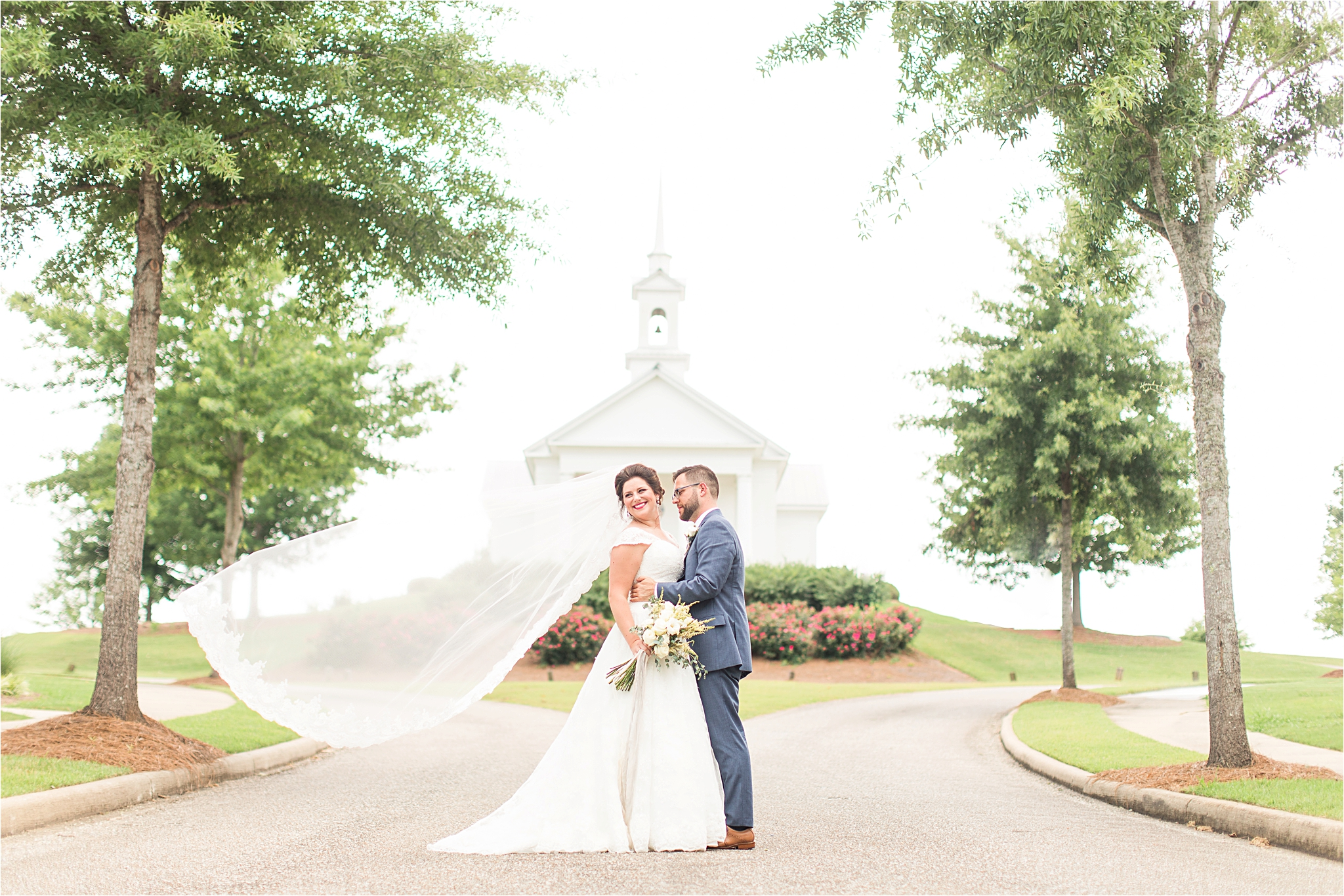 The Chapel At The Waters Montgomery Alabama Wedding