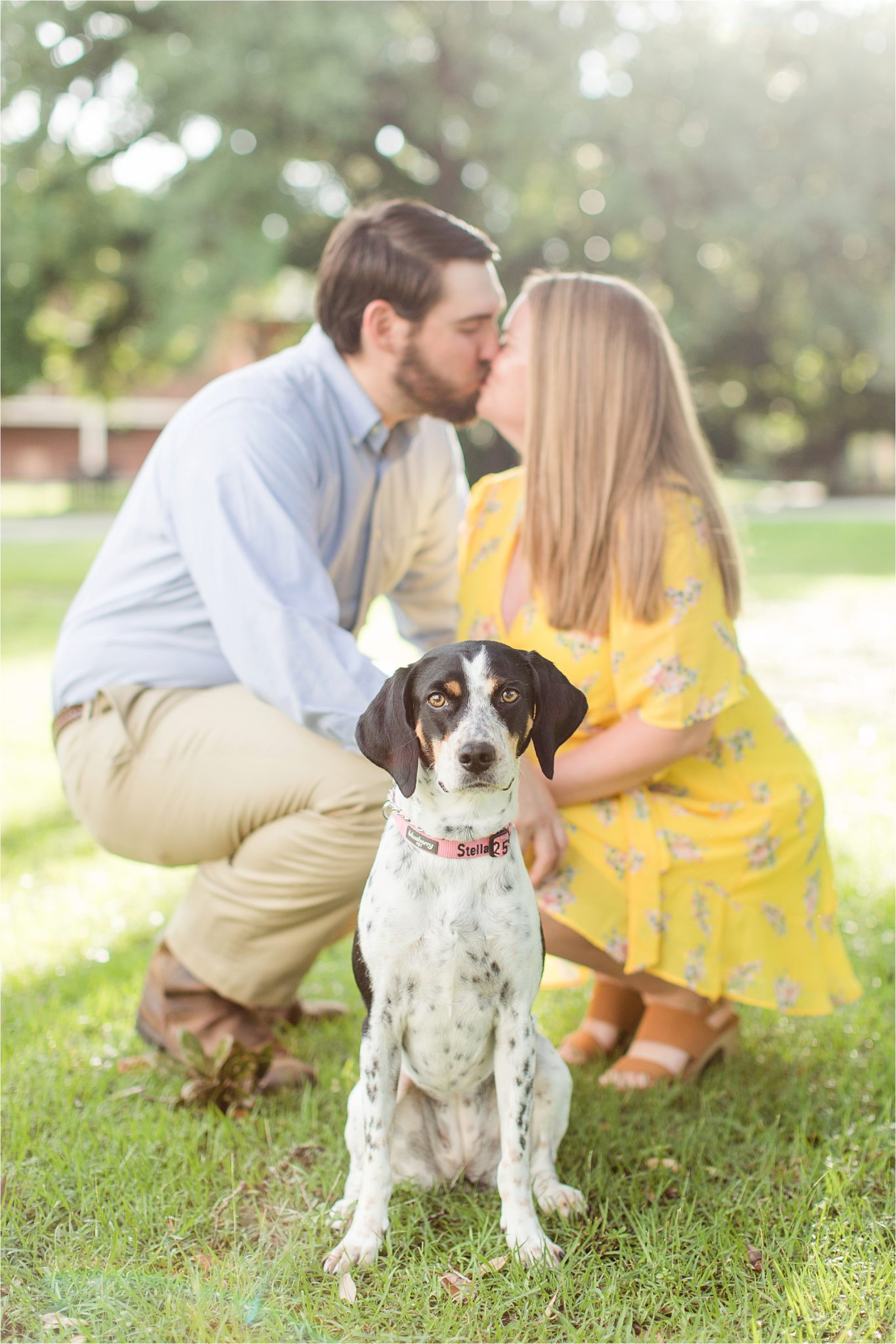 St.Joseph Chapel, Mobile Alabama Photographer, Spring Hill College, Catholic Church Engagement Shoot, Summer Engagement Shoot, Engagement Shoot Inspiration, Engagement Shoot With Pet