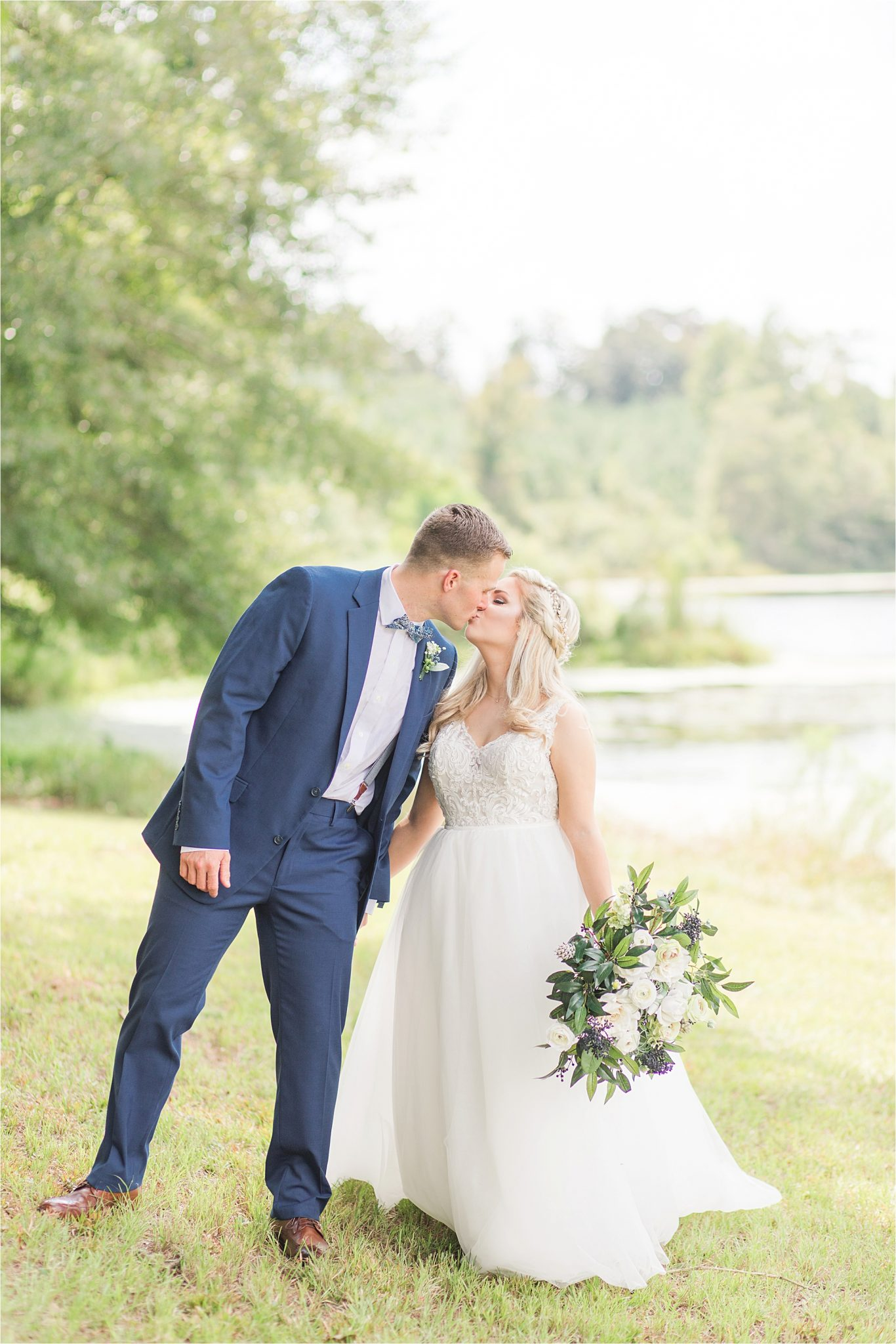 bridal-groom-portraits-photos-blue-suit-bow-tie-first-look-precious-moments