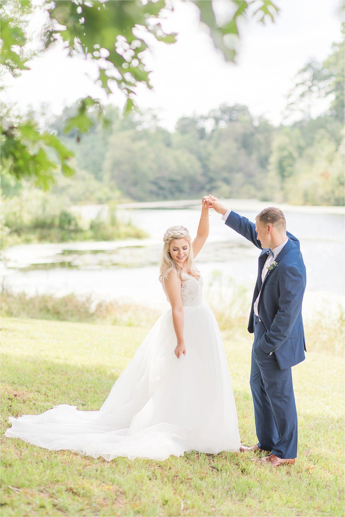 bridal-groom-portraits-photos-blue-suit-bow-tie-first-look-ideas