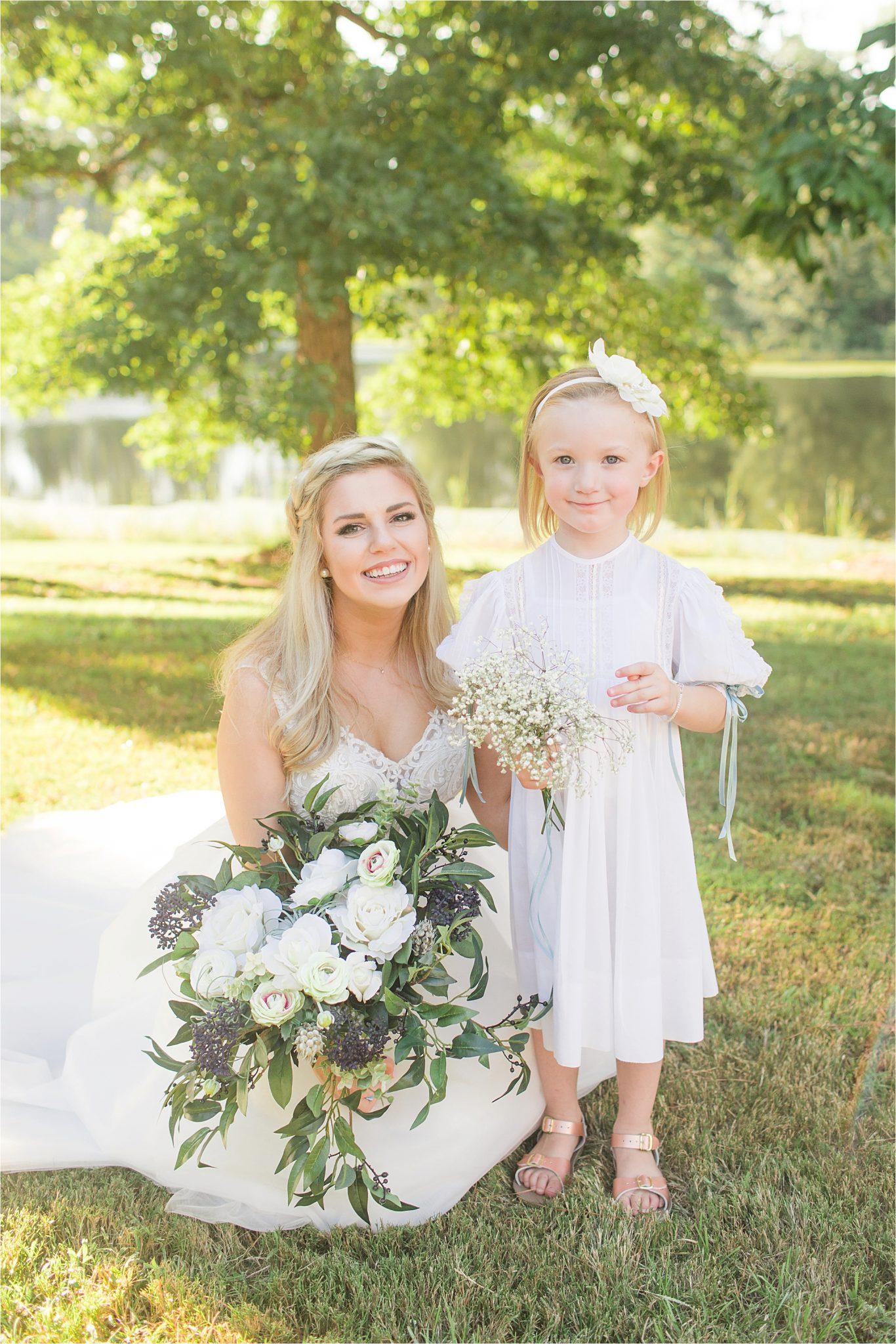 bride-flower-girl-dress-hair-piece
