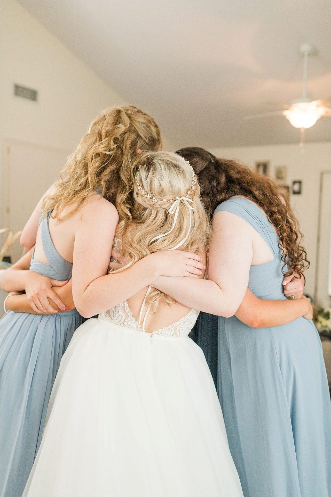 bride-bridesmaids-precious-moments-periwinkle-dusty-light-blue-wedding-cute-photo-ideas