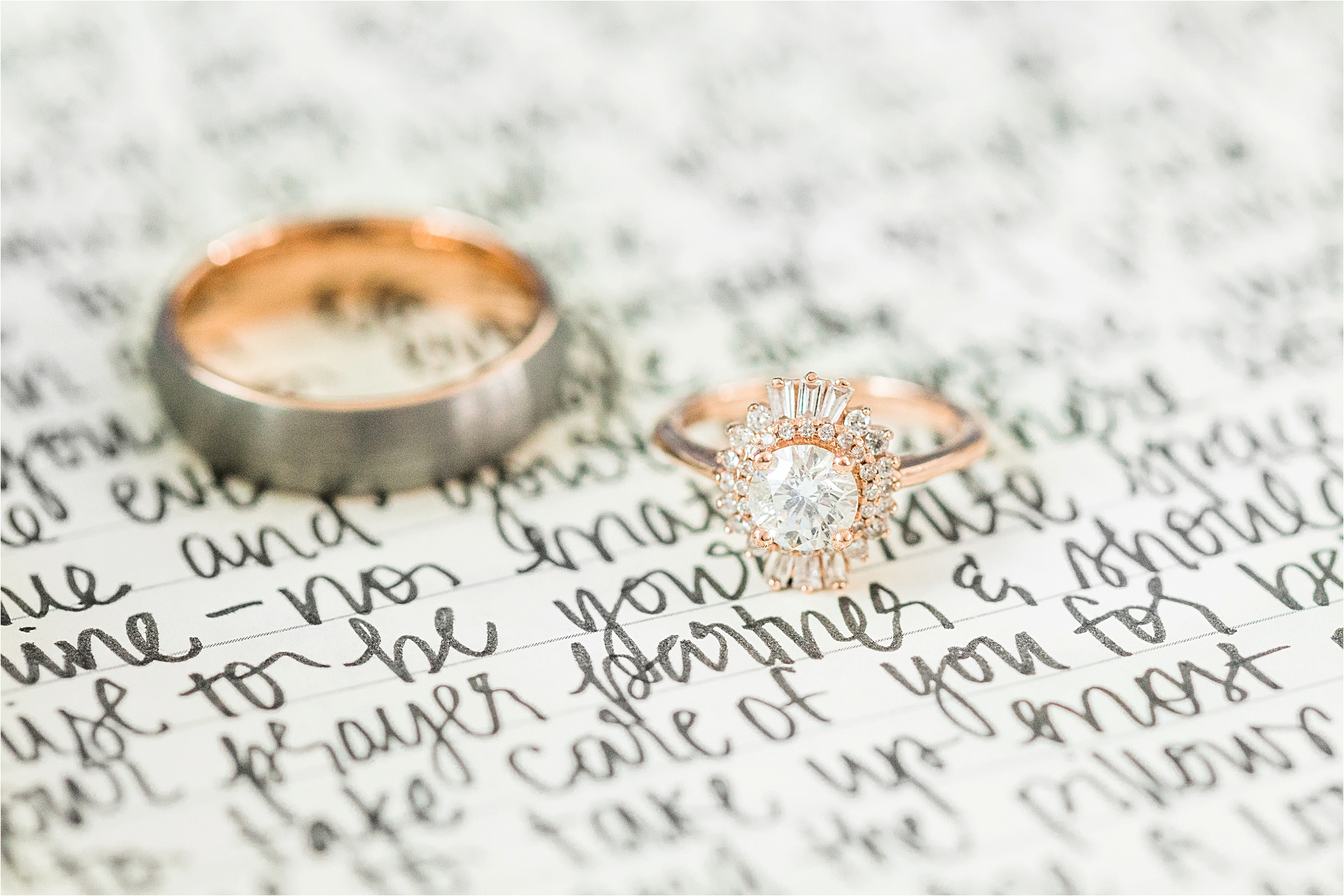 unique-engagement-ring-wedding-band-rose-gold-halo-ornate-oval-love-note